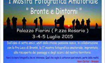 BRONTE: MOSTRA AMATORIALE DI FOTOGRAFIA