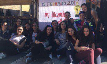"""BRONTE: GLI STUDENTI """"ADOTTANO"""" IL SACRARIO E L'ANFITEATRO"""