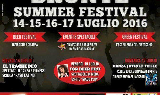 BRONTE OGGI INIZIA IL SUMMER FESTIVAL, FESTIVAL CINEMA CONTRO LE MAFIE