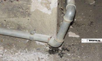 MANIACE: AUTO ROMPE TUBO DEL GAS E SCAPPA, INTERVENGONO VVF E CC – LE FOTO