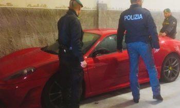 CATANIA: SEQUESTRATA FERRARI 430 SCUDERIA AD UN PROFESSIONISTA ETNEO