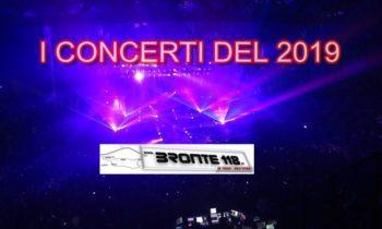 SICILIA: I CONCERTI DEL 2019 – GLI ULTIMI BOTTI