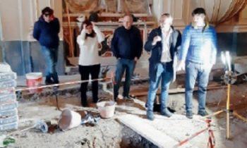 BRONTE: CHIESA DEL ROSARIO COMPLETATI I LAVORI DI SCAVO NELLE DUE CRIPTE