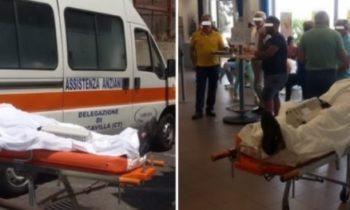 BIANCAVILLA: «PER IL BANCOMAT CI VUOLE IL TITOLARE» L'ANZIANO VA ALLE POSTE IN AMBULANZA