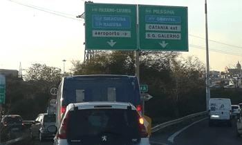CATANIA: DA DOMANI LAVORI SULLA TANGENZIALE, DEVIAZIONI PER L'AEROPORTO