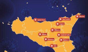 SICILIA: SALE IL CONTAGIO E LE ZONE ROSSE, ORA 10 I COMUNI OFF LIMITS